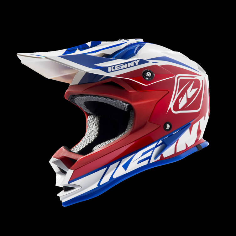 KASK KENNY PERFORMANCE blue / white / red