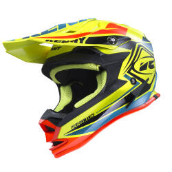 KASK KENNY PERFORMANCE 2017 neon yellow / blue / orange