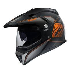 KASK KENNY XTR matt black / orange