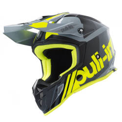 KASK PULL-IN RACE grey / neon / yellow 2019