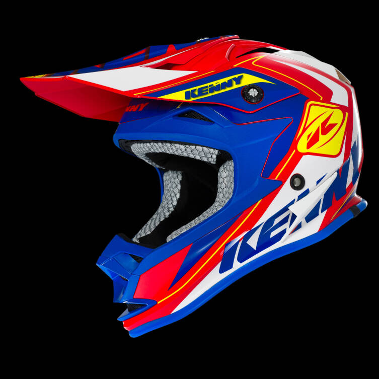 KASK KENNY PERFORMANCE red / blue / yellow