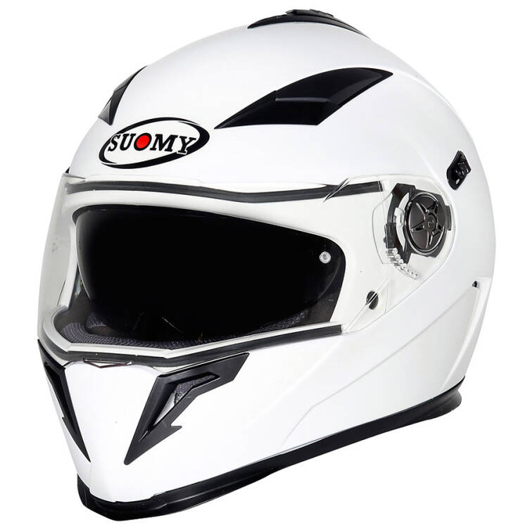 KASK SUOMY HALO Plain White