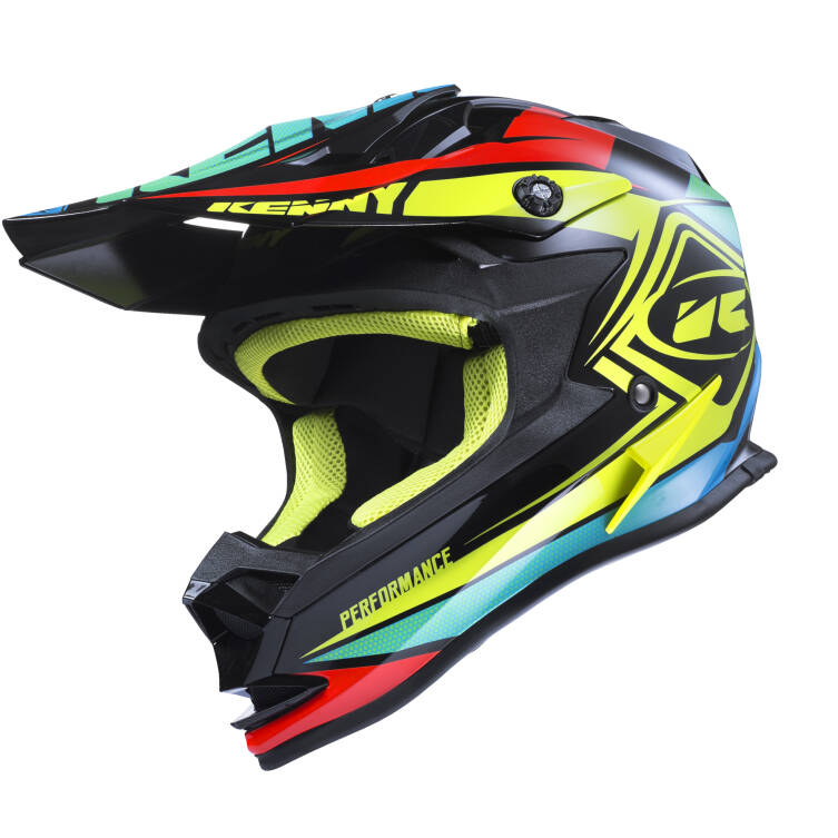 KASK KENNY PERFORMANCE 2017 black / neon yellow / orange