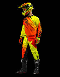 KOMPLET KENNY TRACK 2016 neon yellow / neon orange