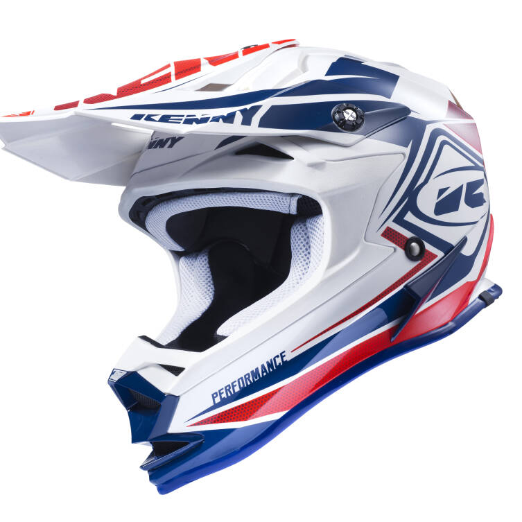 KASK KENNY PERFORMANCE 2017 navy / white / red